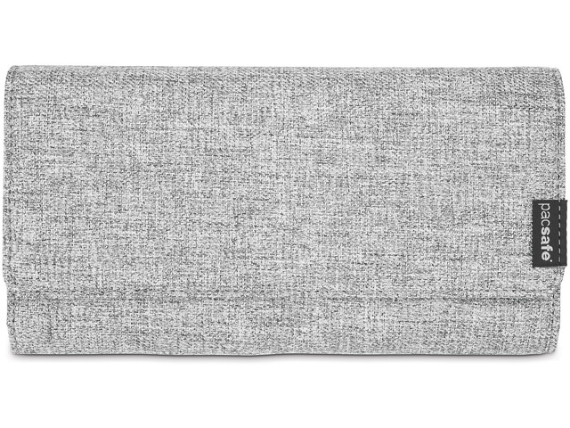 Pacsafe RFIDsafe LX200 Clutch-lompakko Naiset, tweed grey